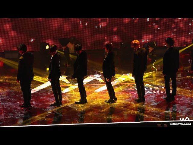 171115 슈퍼주니어 (Super Junior) Black Suit 4K 직캠 @아시아 아티스트 어워즈 (AAA) 4K Fancam by -wA-