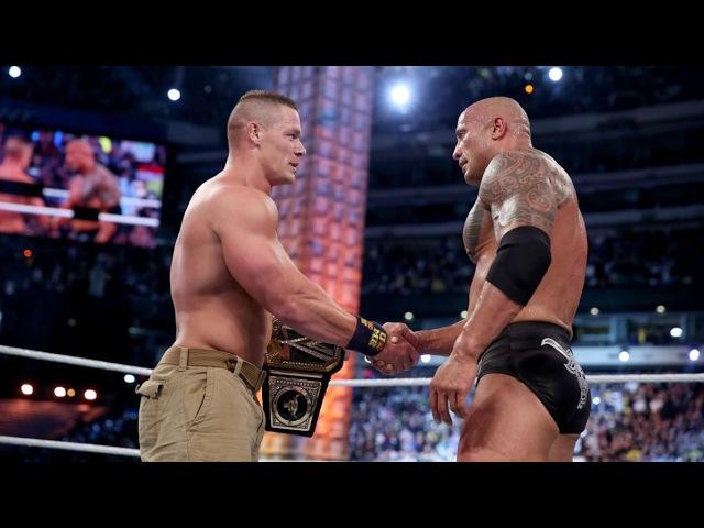 WrestleMania 29 - John Cena vs The Rock WWE Championship Highlights!