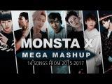 MONSTA X 2 YEAR MEGA-MASHUP  14 Songs From 2015-2017