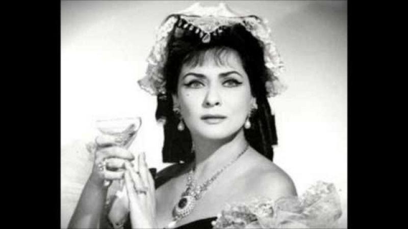 Giuseppe Verdi - TRAVIATA - Zeani, Misciano, Bechi - Catania, 22.02.1959