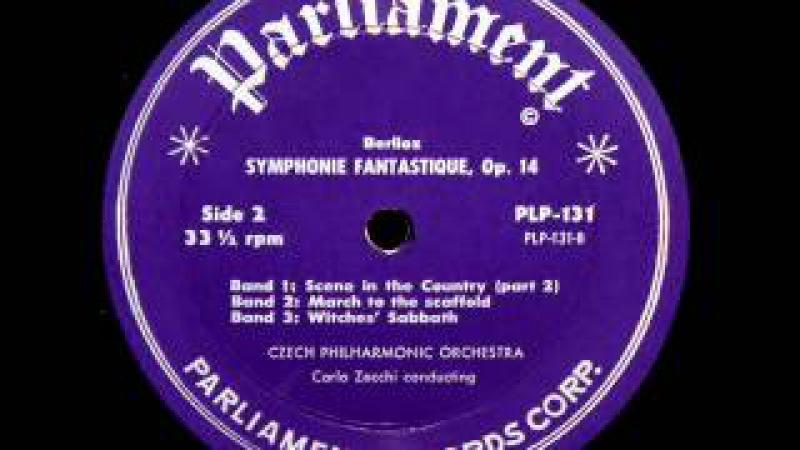 Berlioz / Carlo Zecchi, 1959: Symphonie Fantastique Op. 14 - Czech Philharmonic - Parliament LP