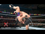 FULL MATCH - John Cena vs. Rusev United States Title Russian Chain Match Extreme Rules 2015