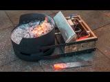 Homemade Portable DIY Blacksmiths Forge
