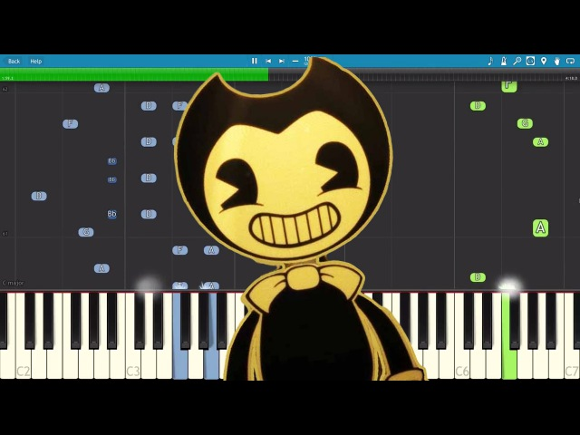 Bendy And The Ink Machine Song (Build Our Machine) DA Games - Piano Tutorial Cover
