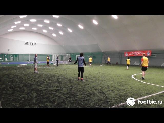 FOOTBIC.RU. Видеообзор 12.06.2017 (Метро Марьина Роща). Любительский футбол