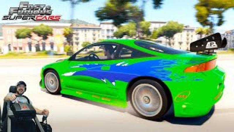 Гиперреактивный фул тюненый Mitsubishi Eclipse GS Fast Furious Edition Forza Horizon 2