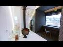 Спальня будущего, гостиная, студия и ванная в одном большом пространстве