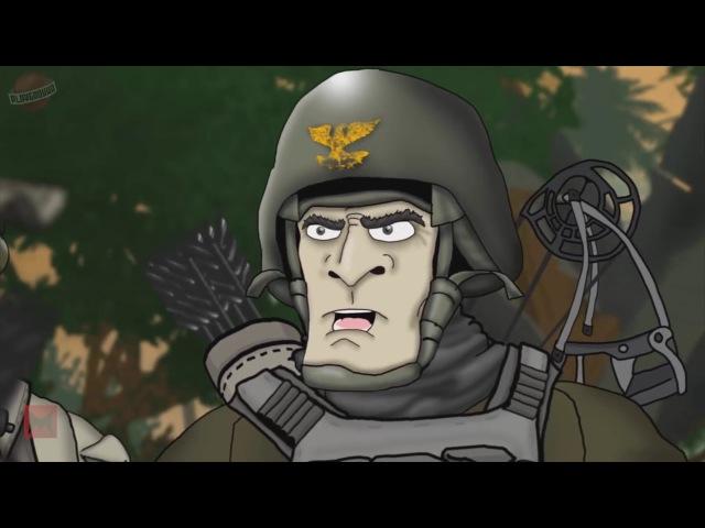 Друзья по Battlefield весь 6 сезон 1080p HD без вставок от Playground.ru BATTLEFIELD FRIENDS 6