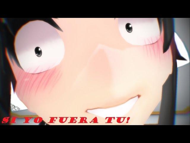 【MMD Yandere Simulator Dl!】 Si yo fuera tu! (Budo x Ayano)