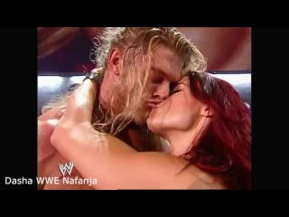 WWE Lita and Edge Hot Sexy Kiss highlights