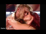 WWE Lita and Edge Hot Sexy Kiss highlights