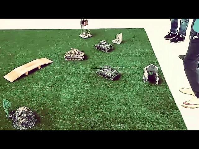 Танковый бой. Каждый за себя
