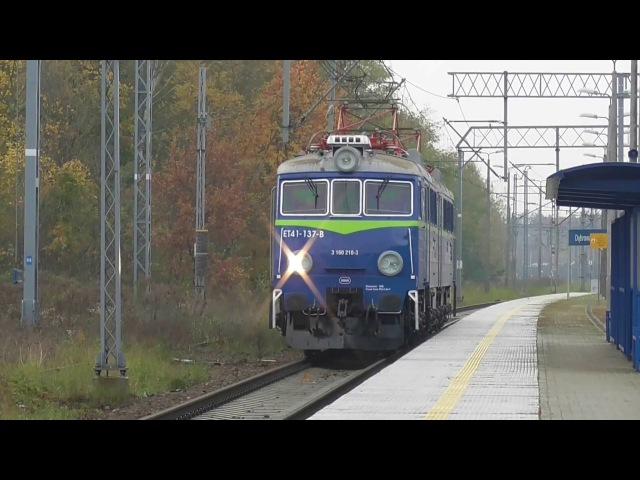 Stacja PKP Dąbrowa Górnicza Ząbkowice [ EIP EIC IC TLK KS Regio Cargo ]