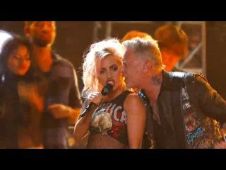 Metallica & Lady Gaga - Moth into Flame (Grammy Awards 2017)