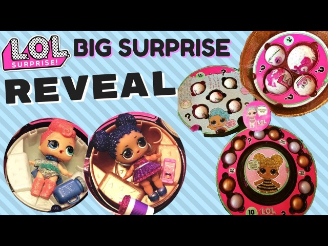 LOL BIG SURPRISE REVEAL! 50 SURPRISES! BRAND NEW LOL DOLLS!