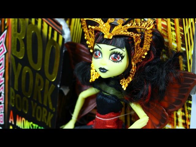 Luna Mothews / Луна Мотьюс - Boo York Boo York / Бу Йорк - Monster High - CHW64 CHW62