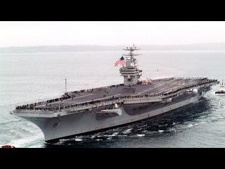 Трамп Не Шутит!!! Авианосец USS Carl Vinson Направляется к Корейскому Полуострову