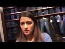 """Украинский """"патриотический"""" гей угрожает русской девушке в Сумах."""