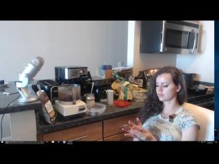 Jessie rogers - беременная блядь делает шоколадные шарики (09.10.2017) - twitch.tv