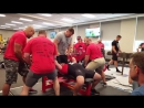 Джереми Хурнстра - жим лежа 305 кг (107,5 кг)