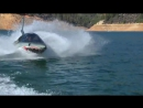 Ныряющий катер акула