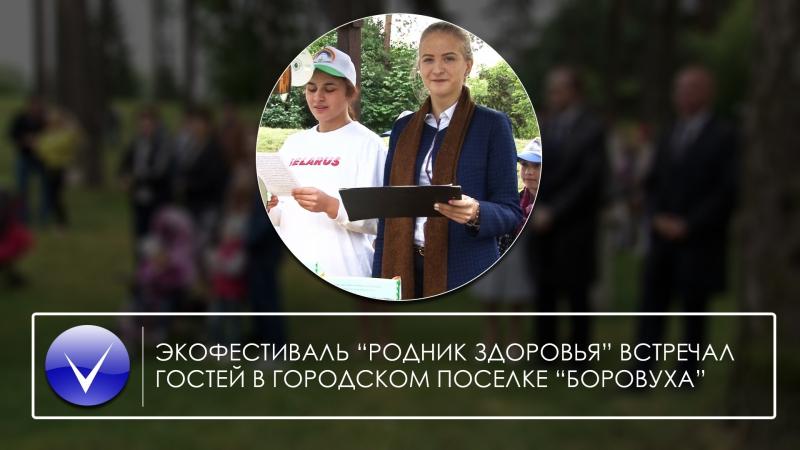 «Родник здоровья» встречал гостей в городском поселке Боровуха