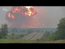 Вінничина Відео вибухів на артилерійських складах