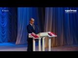 Присяга главы Удмуртии Александра Бречалова