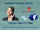 Get brisk arrangements by means of Facebook Customer Service 1-850-777-3086