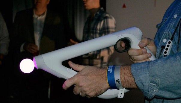 Контроллер Aim для шлема PS VR выйдет 16 мая вместе с шутером Farpoint