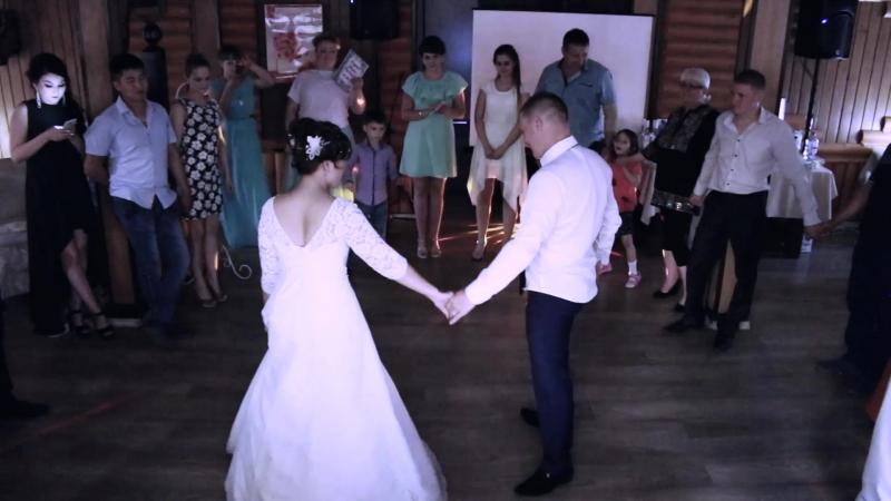 Красивый первый танец Алексея и Анастасии! 23.06.2017