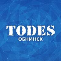 Логотип Школа танца TODES-Обнинск