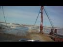 Переправа через реку Пур в ЯНАО.Часть 1.