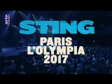 Sting - Live in Paris, France, Olympia 2017