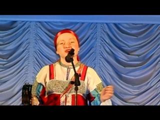 Петухова Мария. Ай во поле липонька. Январь 2017
