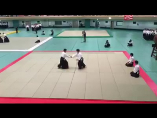 Nomura Naomi shihan, 7th dan 55th All Japan Aikido demonstrations 2017 (Video collection Daigoshin ryu) https://vk.com/komeijuku