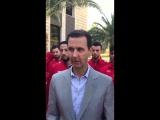 حديث الرئيس الأسد خلال استقباله المنتخب السوري