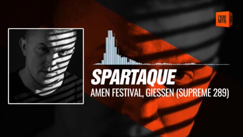 @spartaque - Amen Festival, Giessen (Supreme Podcast 289, Germany) 30-10-2017 Music Periscope Techno
