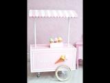 LIFE MAGIC BOX Seamless Wrinkle-free Washable Birthday Ice Cream Car Photo Backdrops Studios Photography Backgrounds
