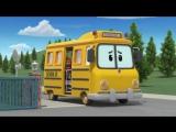 Робокар Поли - Правила дорожного движения - Смотри под ноги, когда гуляешь (мультфильм 17)
