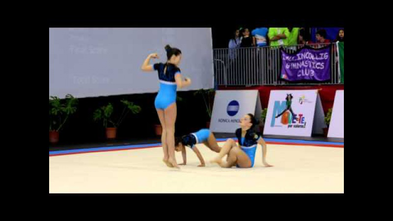 MIAC 2013 - POR SEUTERPE - W3 Beginner Finals - Patricia and Barbara