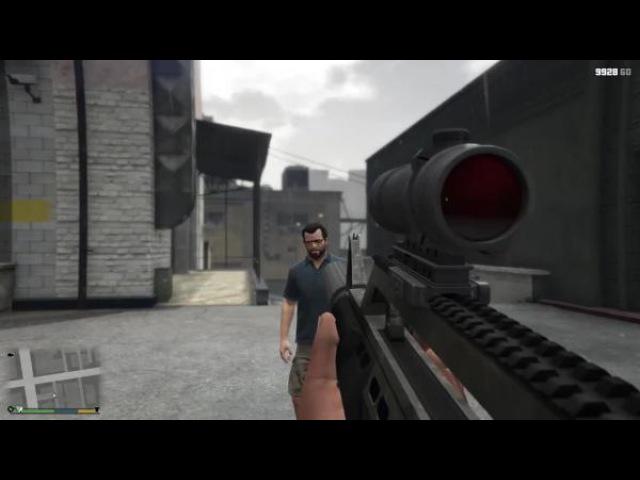 GTA 5 - разрушители легенд 4