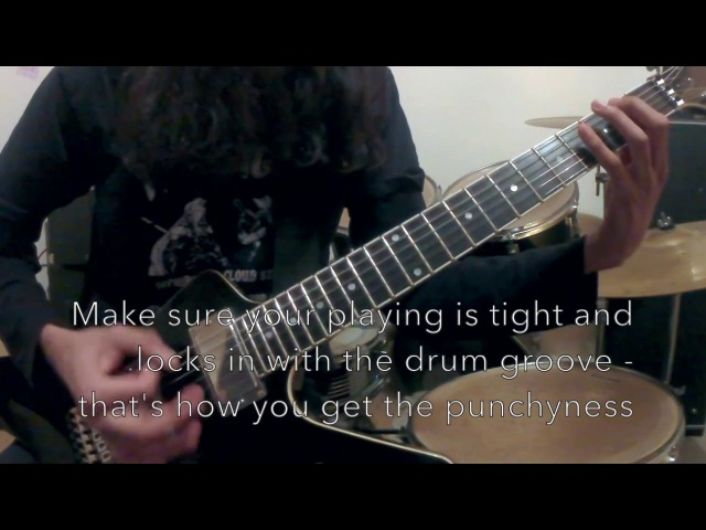 5 Types of BLACK METAL Guitar Riffs and How To Play Them!