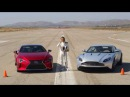 Lexus LC 500 vs. Aston Martin DB11 – The AMCI Track Test