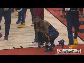LeBron James Emphatic Alley-OOP SLAM DUNK | RAPTORS vs CAVS | December 5 | 2016-17 NBA Season