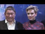GHOST IN THE SHELL Tokyo Premiere Photo Call - Scarlett Johansson, Beat Takeshi Kitano