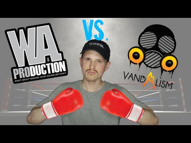 W.A. Production VS. Vandalism BATTLE!! ✊️💥