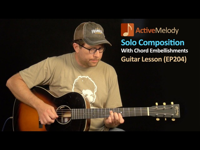 Easy Blues Guitar Lesson - Learn Several Chord Embellishments and Hybrid Picking Technique