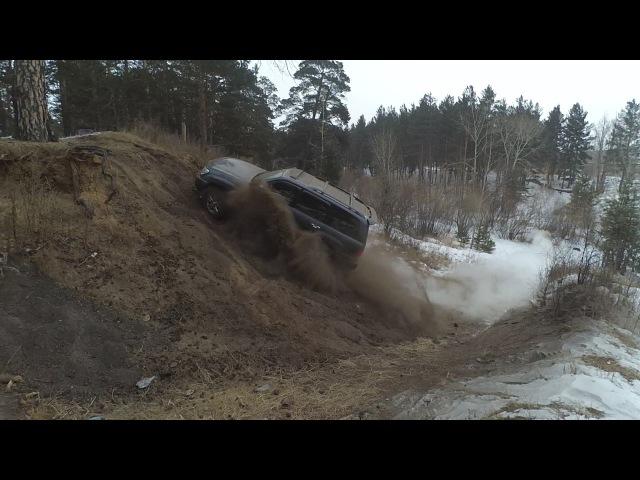 Lexus LX 470 vs УАЗ vs Hilux Surf. Стандартный авто против подготовленных джипов