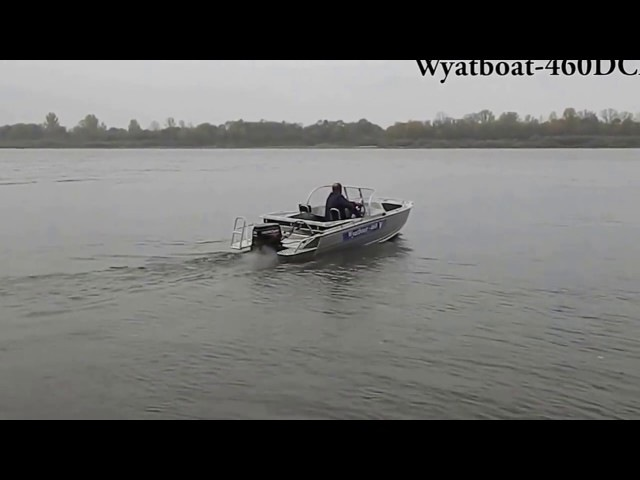 Wyatboat 460DCM с мотором Mercury 30E